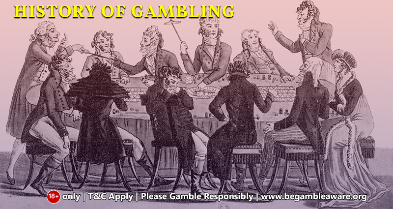 History of Gambling: The casino games ancients were fond of!