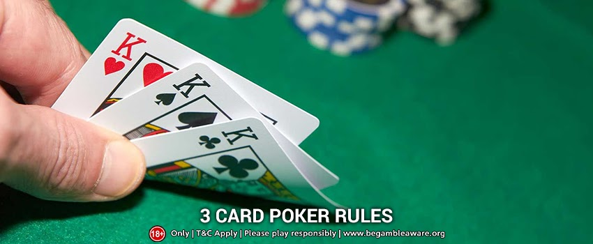 3 Card Poker Rules You Must Know